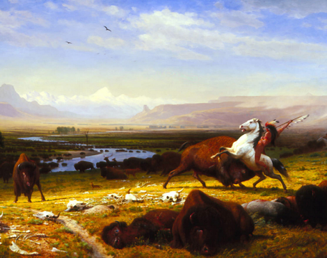 Bierstadt, Last of buffalo.jpg