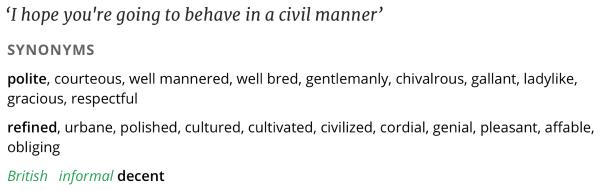 https://en.oxforddictionaries.com/thesaurus/civil